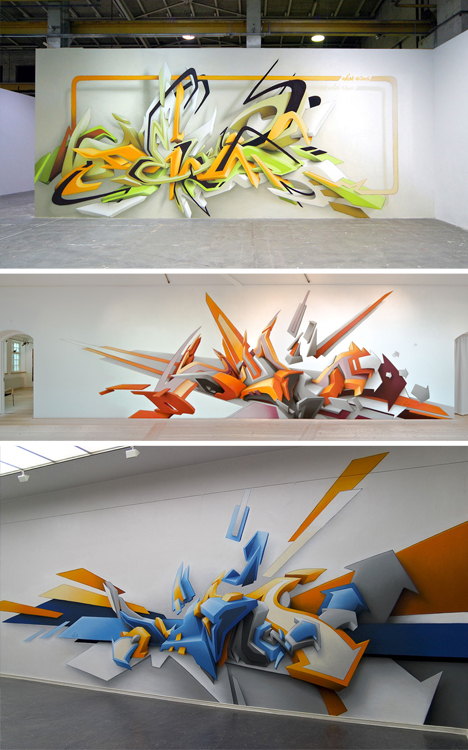 3d graffiti daim letters