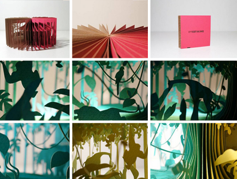 3d panorama story books