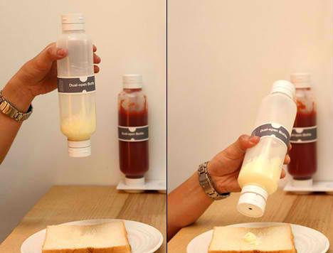 Designer Bottles Dual Opening