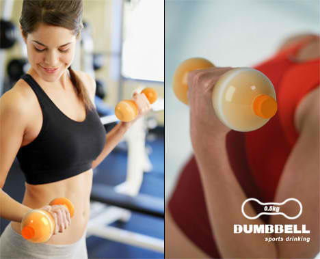 Designer Bottles Dumbbell 2