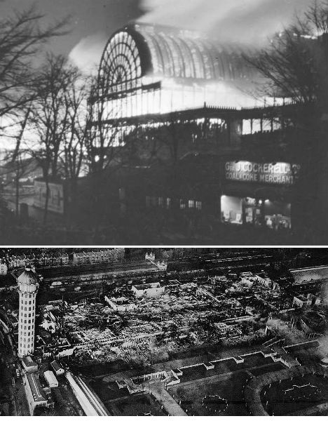 Destroyed Architecture Crystal Palace London 2