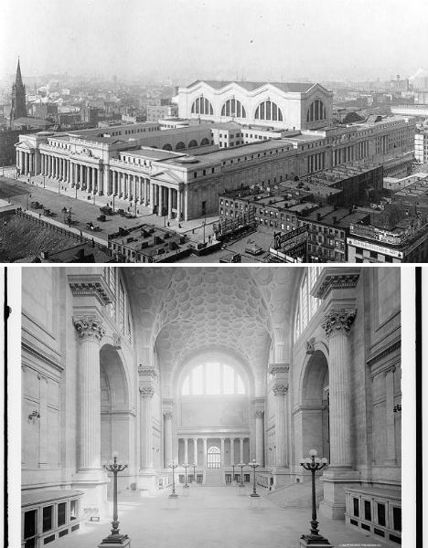 Destroyed Architecture Penn Station
