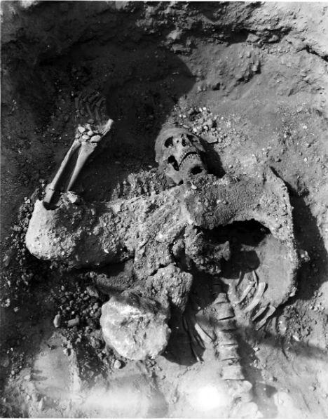 Human Bones First Chemical Warfare