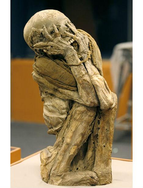 Human Bones Screaming Mummies 2
