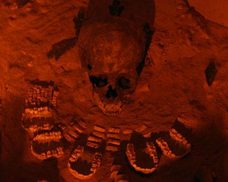 Human Bones Teotihuacan Sacrifice