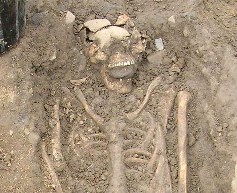Human Bones Vampires Bulgaria