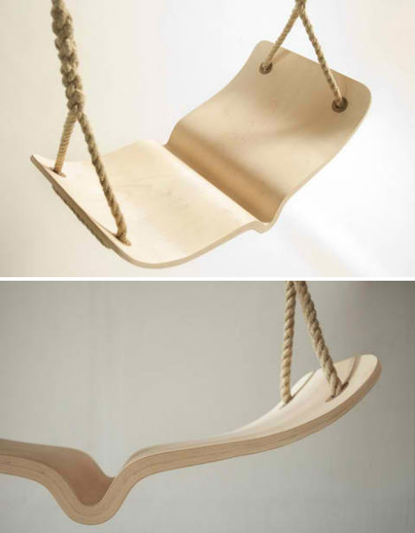 INdoor Swings Bentwood Book