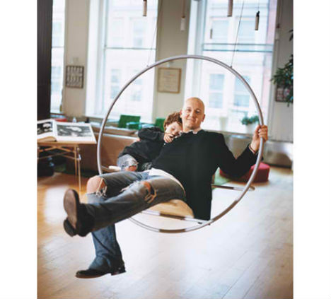 Swinging times 13 stylish fun indoor swings urbanist for How to build a swing set for adults