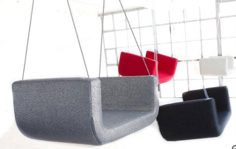 Swinging Times: 13 Stylish & Fun Indoor Swings | Studio Przedmiotu