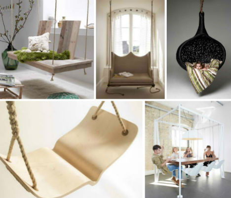 Swinging Times: 13 Stylish & Fun Indoor Swings | Urbanist