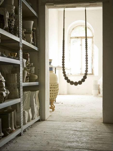 Indoor Swings Necklace