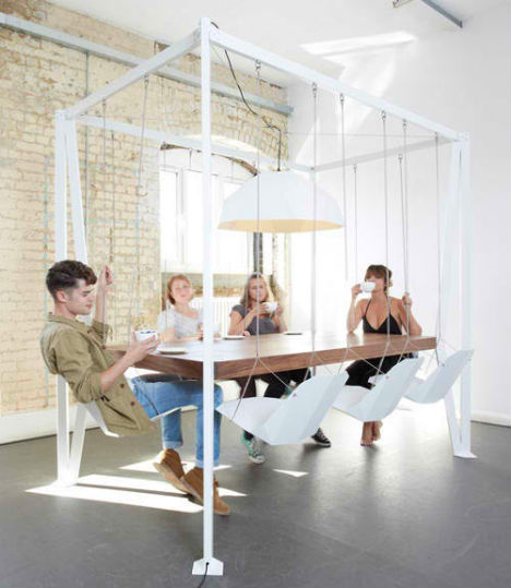 Swinging Times 13 Stylish Amp Fun Indoor Swings Urbanist