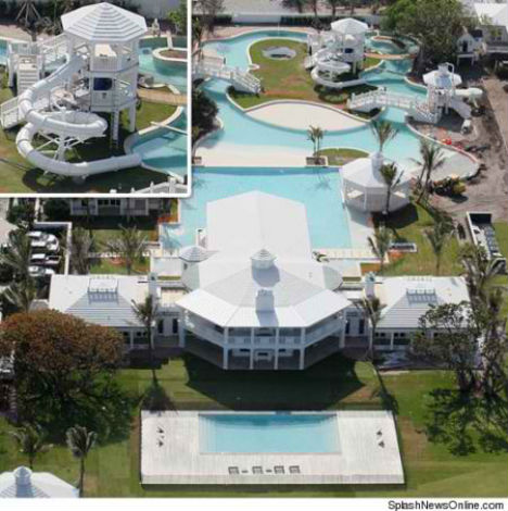 Private Playgrounds Celine Dion Waterpark