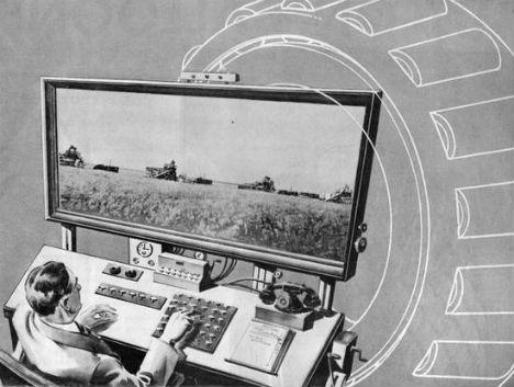 Retrofuturistic Gadgets Automated Farming
