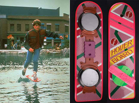 Retrofuturistic Technology Hover Boards