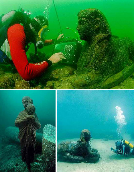 Submerged Cities Alexandria