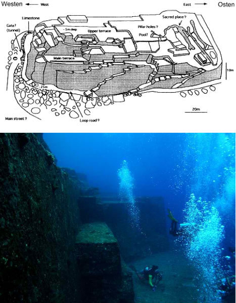 Submerged Cities Yonaguni 2