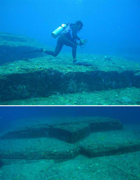 Submerged Cities Yonaguni