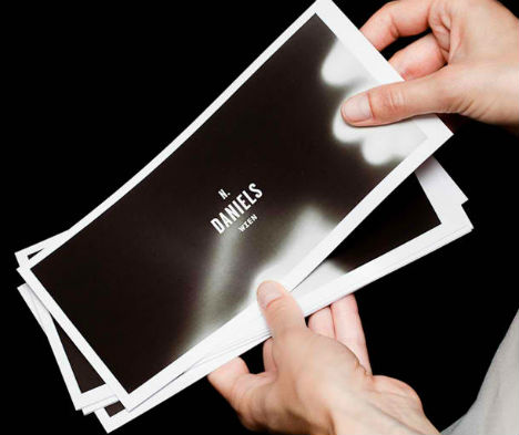 Heat Sensitive Business Cards Take On Temporary Images