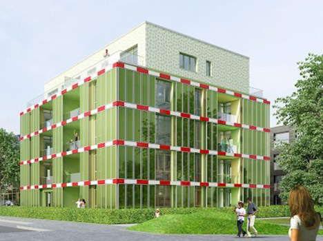 algae biomass building design