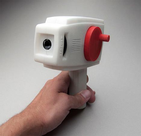 bioscope hand crank camera
