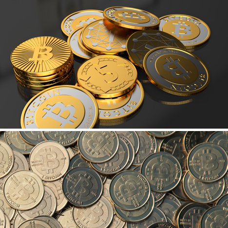 bitcoin digital physical designs