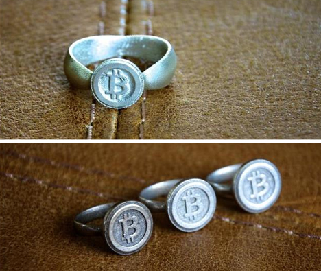 Bitcoin Physical Ring Designs