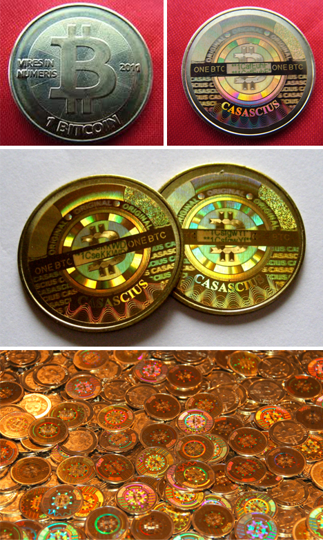 bitcoin physical round design