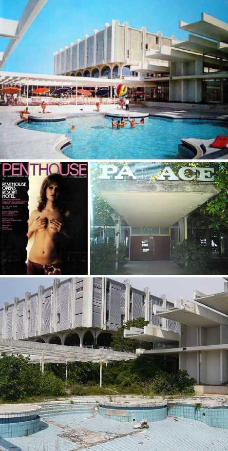 abandoned Penthouse Adriatic Club casino