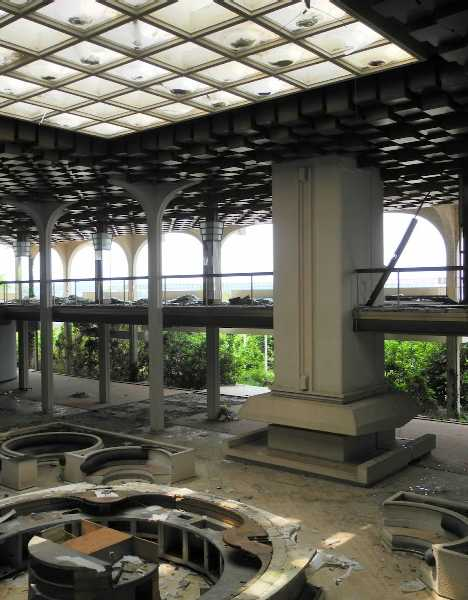 abandoned Penthouse Adriatic Club casino hotel