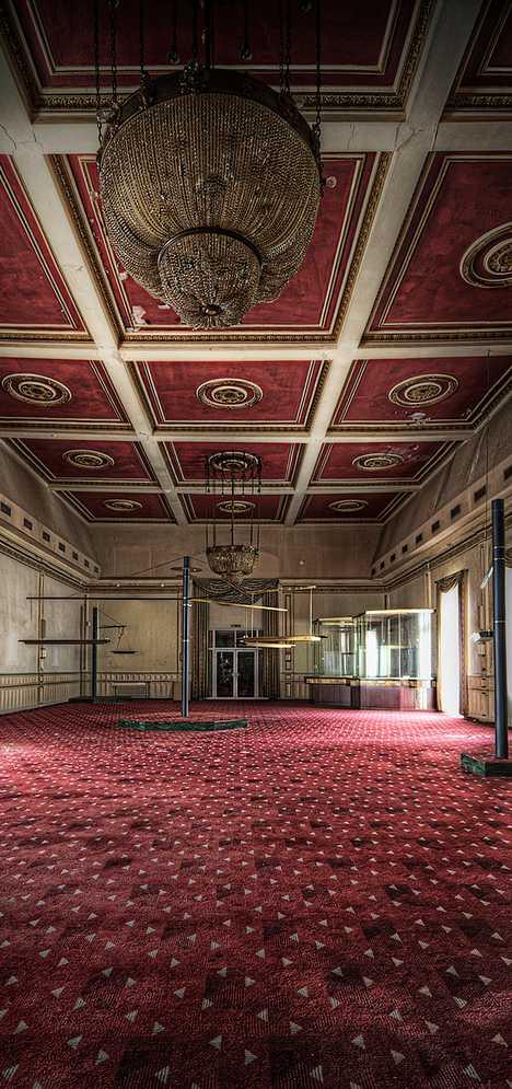 abandoned casino Overlook Hotel