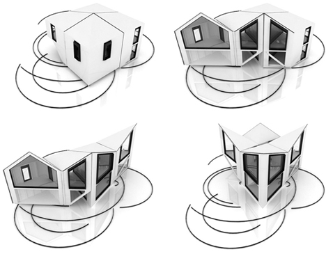 dhouse unfolding architecture