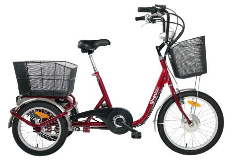 electric assisted tricycle