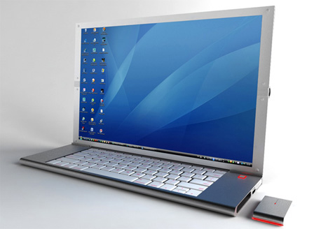 feno foldable laptop concept