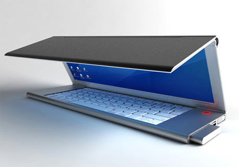feno foldable notebook concept