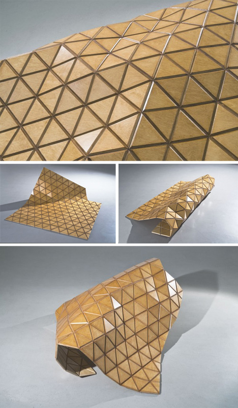 flexible composite wooden material