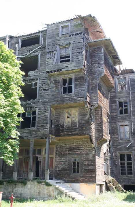 abandoned Greek Orphanage Buyukada Turkey