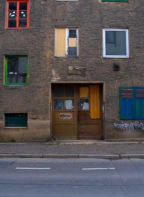 abandoned orphanage Jena Germany GDR
