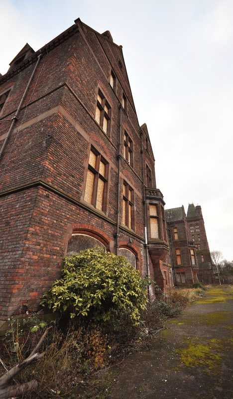 Royal Seaman's Orphanage Newsham Park Liverpool abandoned