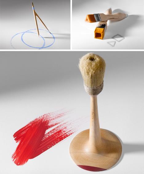 paintbrush geometric shape creators