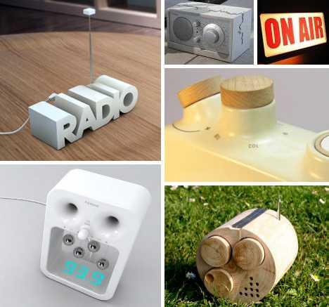 radio concept designs