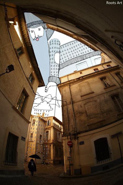 sky art interactive sketch
