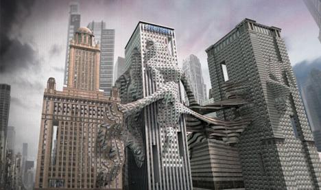 skyscraper adaptive facade concept