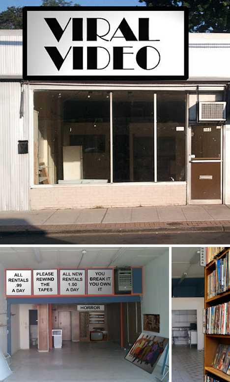 abandoned video store viral video