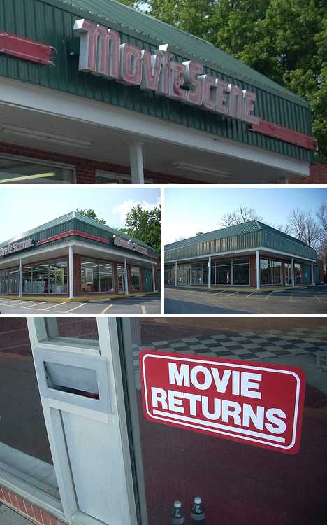 abandoned video store Movie Scene Savannah