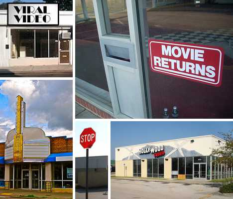 abandoned video stores