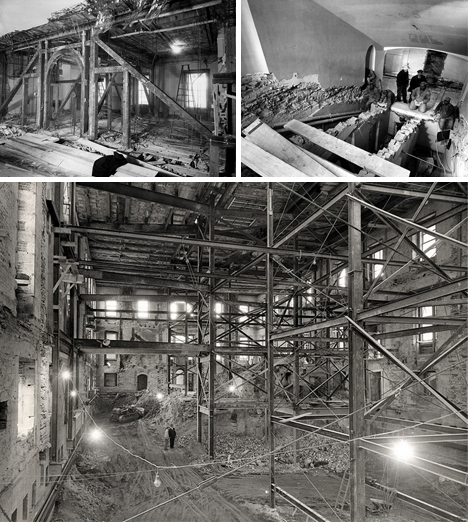 white house reconstruction photos