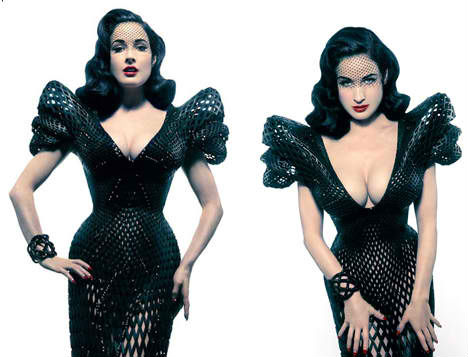 3D Printed Fashion Dita Dress