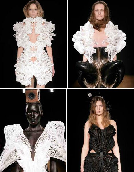 3D Printed Fashion Escapism Dress