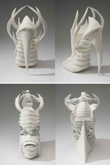 3D Printed Fashion Exoskeleton Shoes